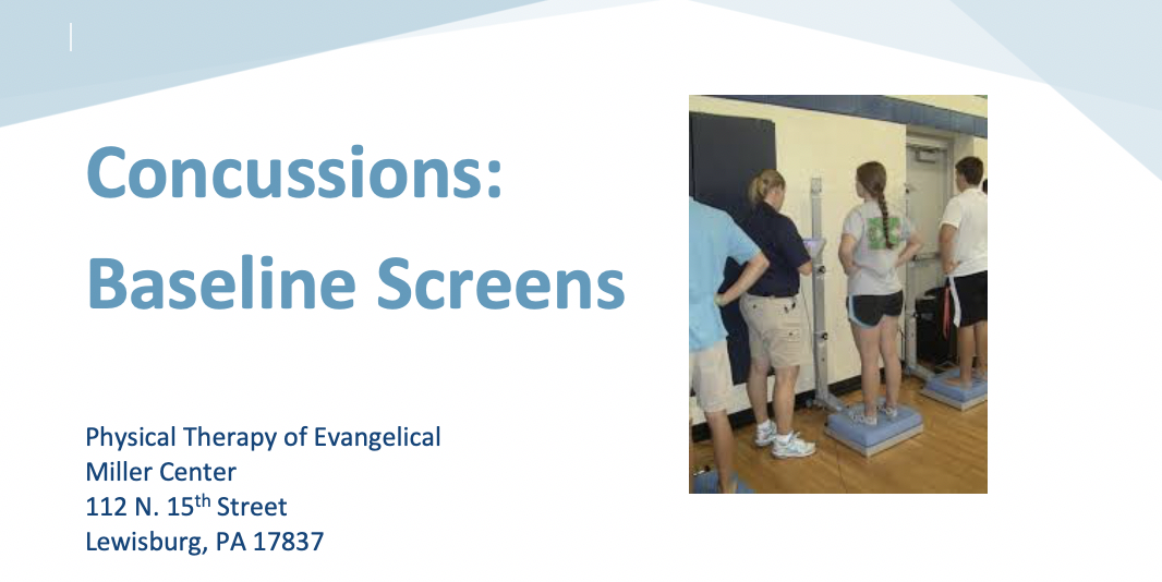 Physicals & Concussion Screening